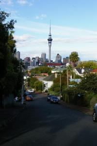 The Sky Tower, from Ponsonby Road