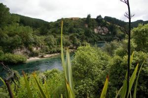 The Aratiatia Scenic Reserve, pre-jet boatting.