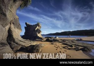 Abel Tasman: A place with an official name.