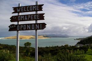 Welcome to Opononi, home of the murdered dolphin.