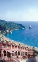 The Pink Palace, Corfu, Greece