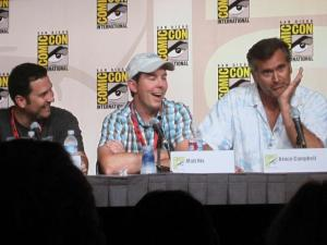 Even without its two stars, the Burn Notice panel brought the house down, making it - unexpectedly - my favorite of the day. Bruce Campbell and Matt Nix were fantastic.