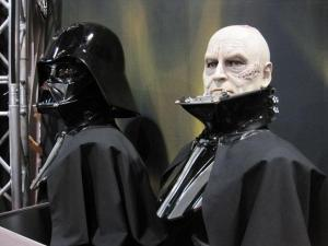 Darth Vader is a little too lifelike for me.